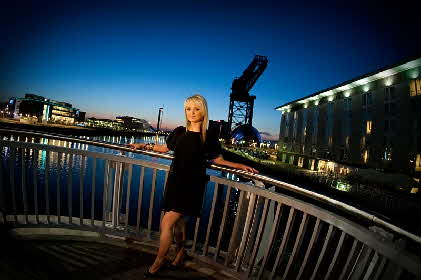Glasgow Nights model Sarah